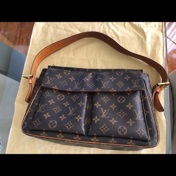 Louis Vuitton Bags   Authentic Vintage Monogram Viva Cite   Poshmark c7e6b5f10d